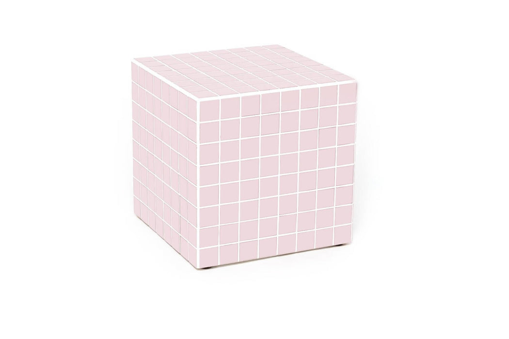 CUBE - MATT LIGHT PINK