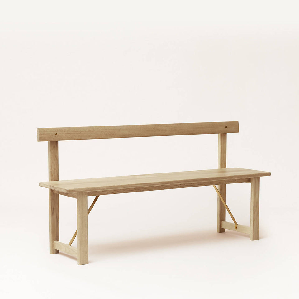 Position Bench 155, White Oak