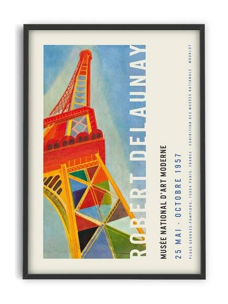 Robert Delaunay - tour Eiffel - Interia design AB