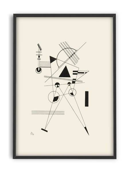Kandinsky - Line work - Interia design AB