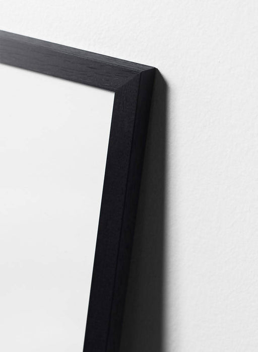 Black painted oak frame - Interia design AB