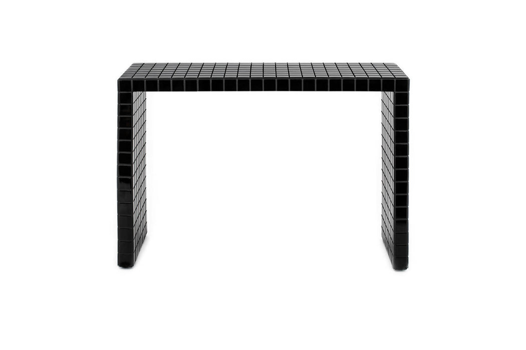 SHORT CONSOLE TABLE - BLACK