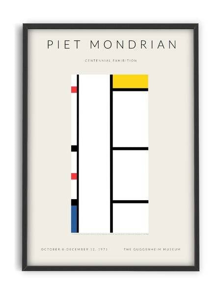 Piet Mondrian - Centinnial Exhibition - Interia design AB