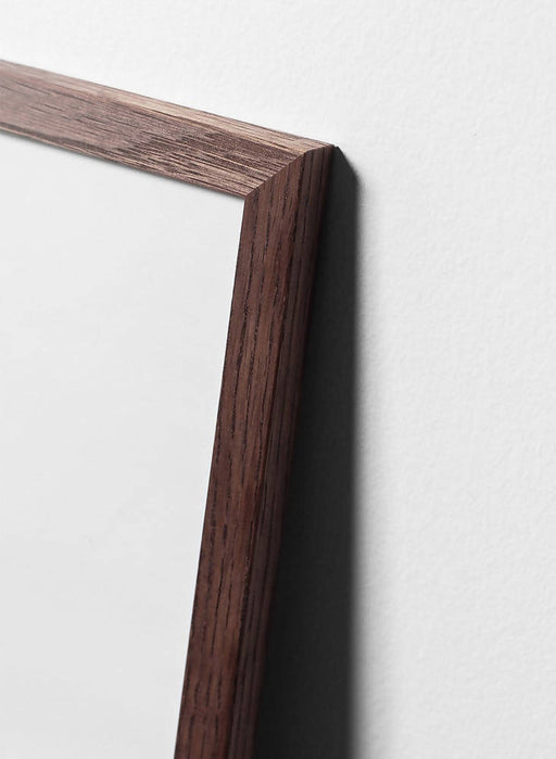 Dark oak wood frame - Interia design AB
