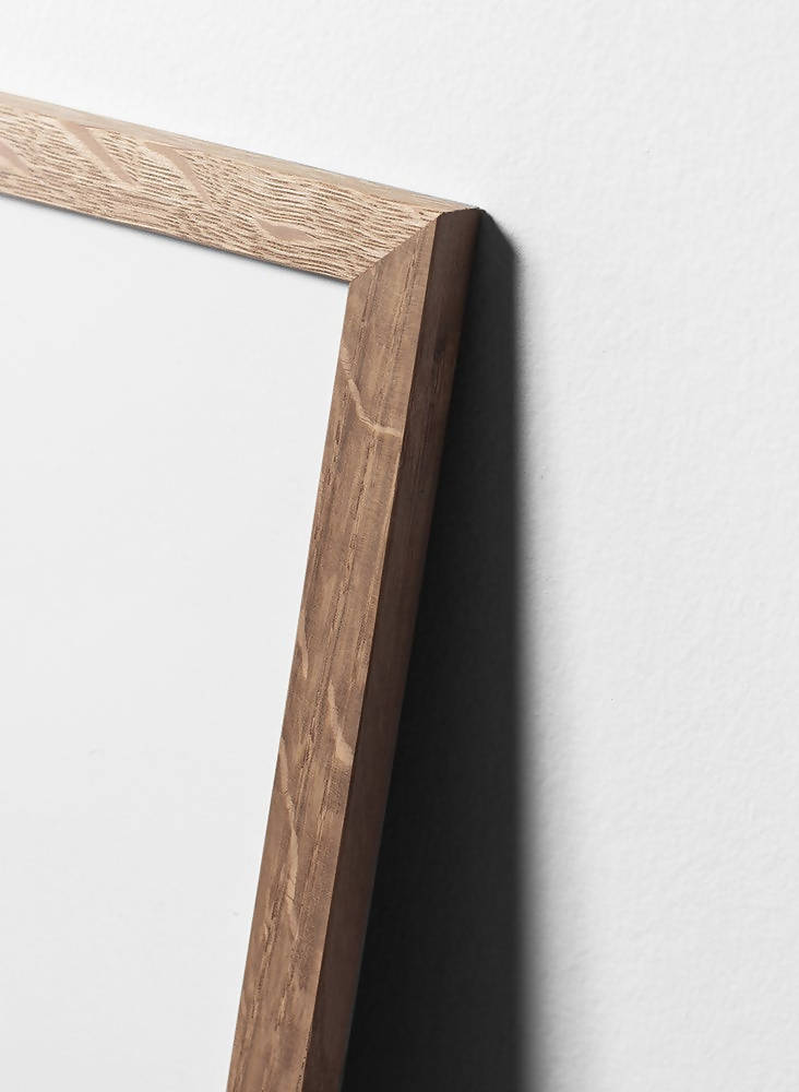 Oak wood frame - Interia design AB