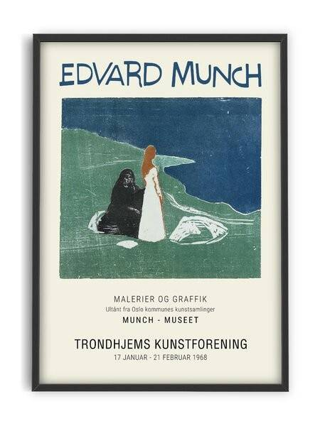 Evard Munch - two woman - Interia design AB