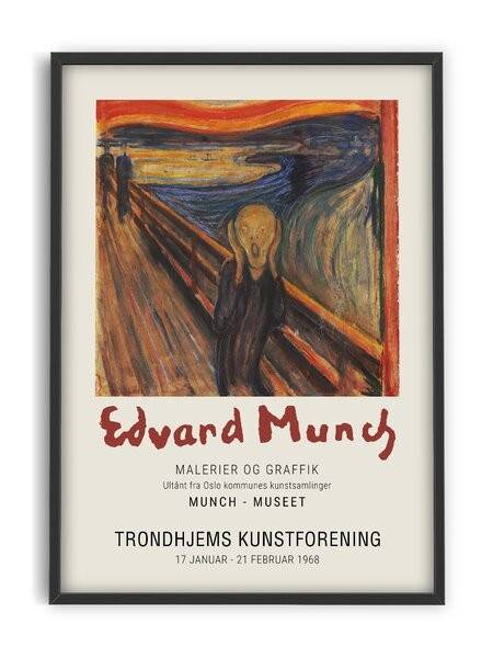 Edvard Munch - The Scream - Interia design AB
