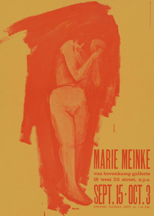 Marie Meinke at Van Bovenkamp Gallery