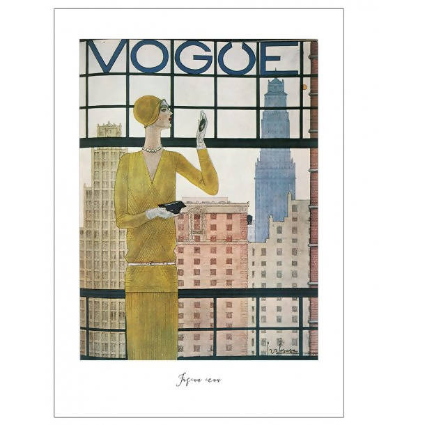 RETRO VOGUE COVER 3 - RETRO POSTER