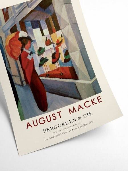 August Macke - The hat shop - Interia design AB