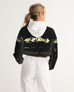 Welcome To The Halo Women's Cropped Windbreaker