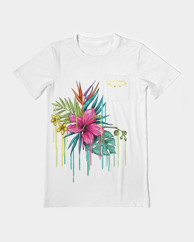 HNDRX Tropical Drip Men's Everyday Pocket Tee