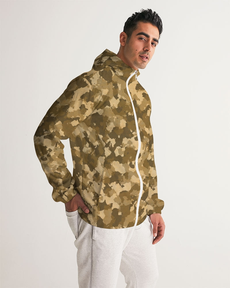 Military Pattern Men's Windbreaker