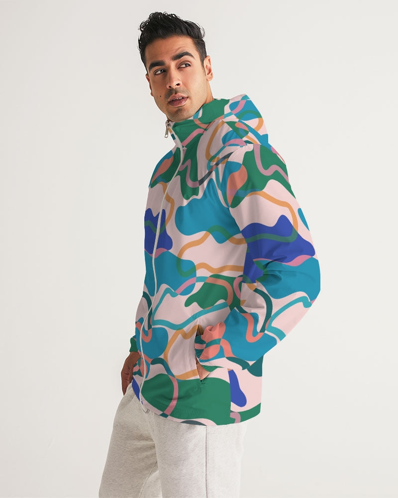 Cotton Candy Men's Windbreaker