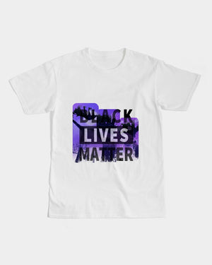 Love BLM Purple Men's Graphic Tee