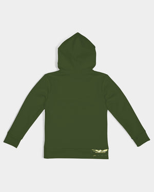 Forest Green Fusion Kids Hoodie