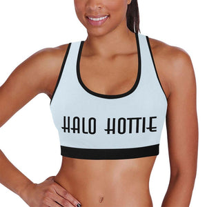 Assorted Pop Color Halo Hottie Sports Top
