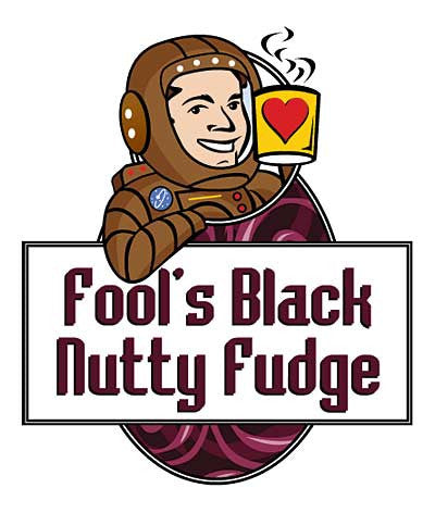 Fool's Black Nutty Fudge