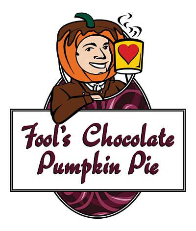Fool's Chocolate Pumpkin Pie