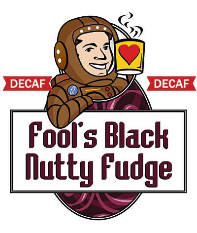 Fool's Decaf Black Nutty Fudge