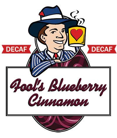 Fool's Decaf Blueberry Cinnamon