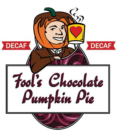 Fool's Decaf Chocolate Pumpkin Pie