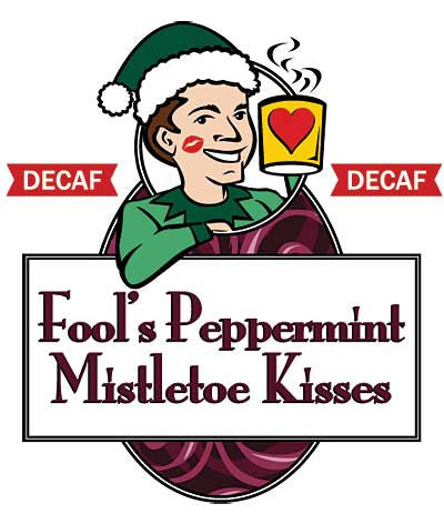 Fool's Decaf Peppermint Mistletoe Kisses