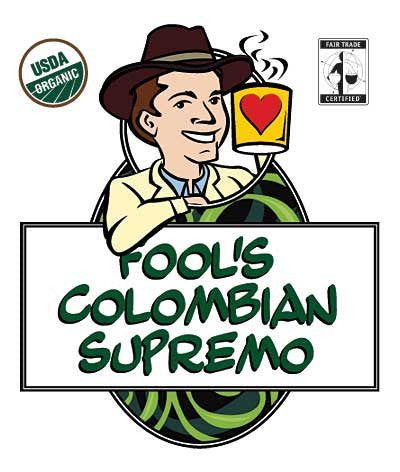 Fool's Organic Fair Trade Colombian Supremo