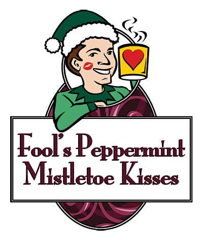 Fool's Peppermint Mistletoe Kisses