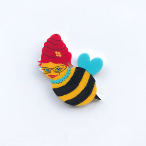 She Bee Brooch