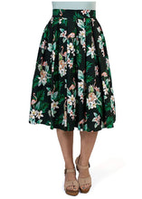 Load image into Gallery viewer, Midi Length Flamingo Skirt