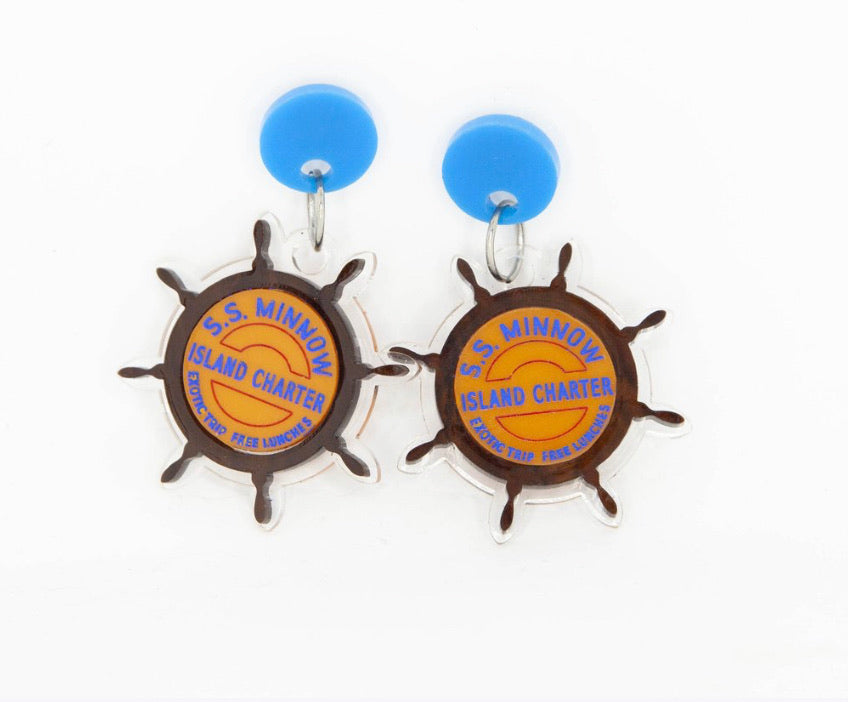 S.S. Minnow Earrings