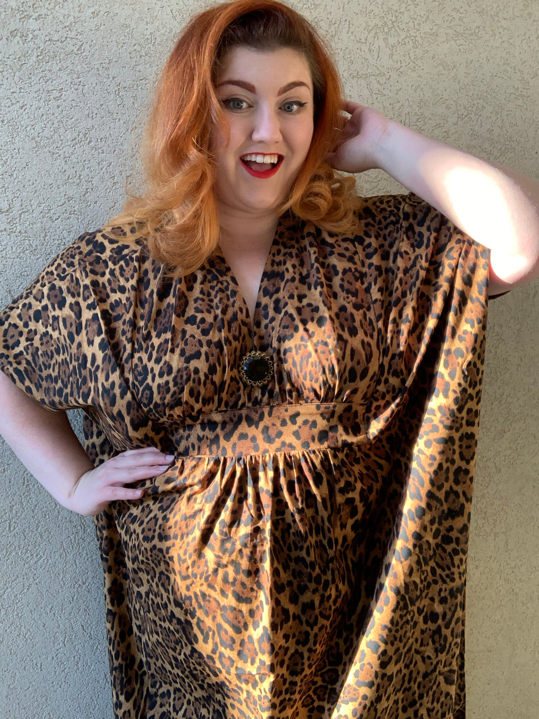 Lovely Leopard Lady Caftan