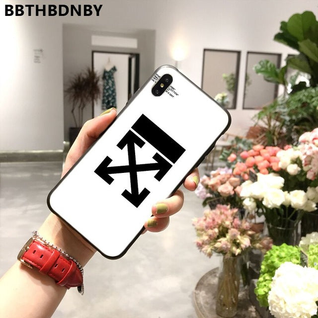 Off white Case for iphone 11 iPhone 11 pro XS MAX 8 7 6 6S Plus X 5 5S SE XR case - CaliDiscount| Iphone Cases, Samsung, Cases, Airpods,Airpod Cases