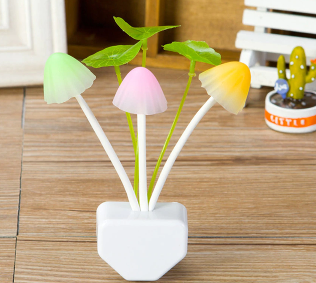 Novelty Mushroom LED Lamp - ValasMall-India