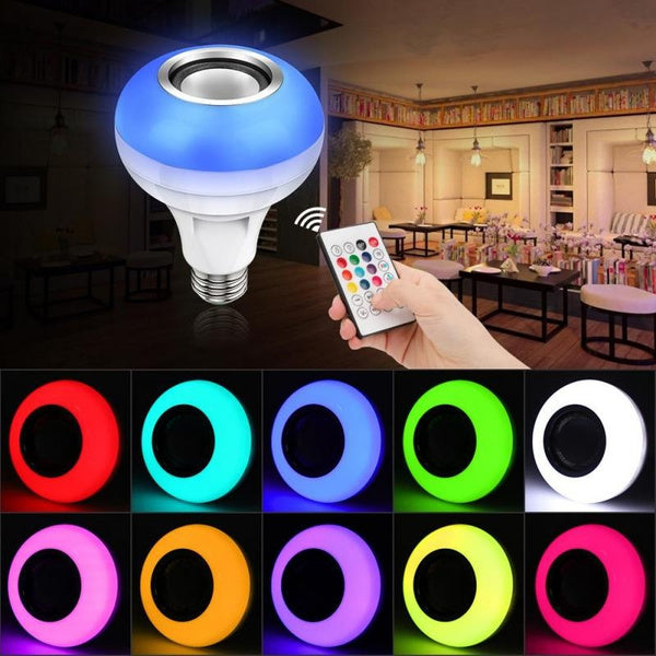 Smart LED Bulb With Built-in Bluetooth Speaker