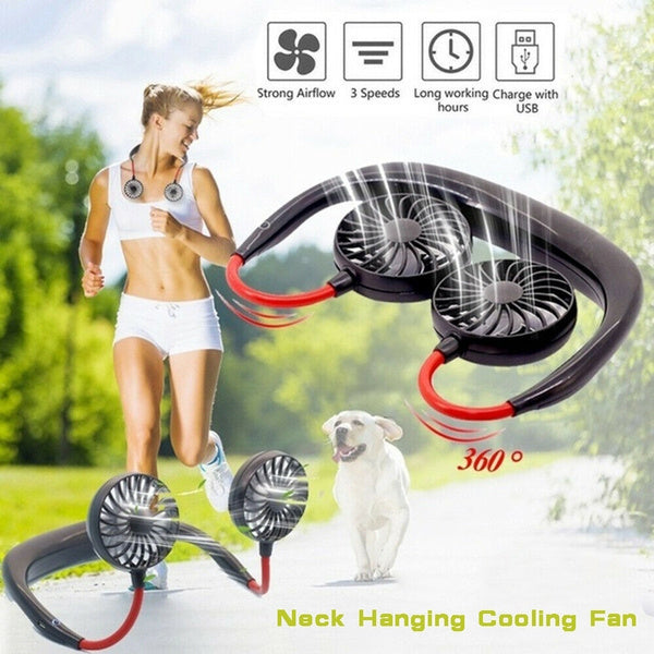 Portable USB Neck Fan Pro