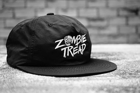 Zombie Tread Wide Brim Cap Black