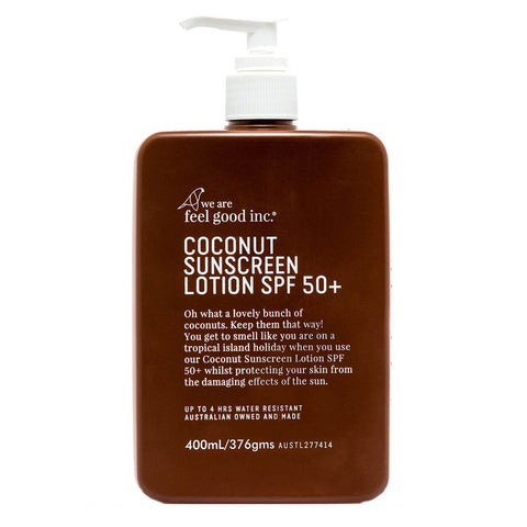 Feel Good In Coconut Sunscreen Lotion SPF50+ 400ml