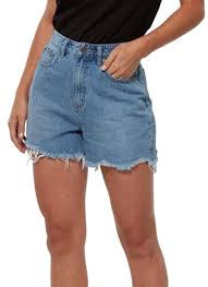 Lee Sublime Hi Relaxed Short