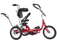 Rehatri special needs tricycle with rear steering