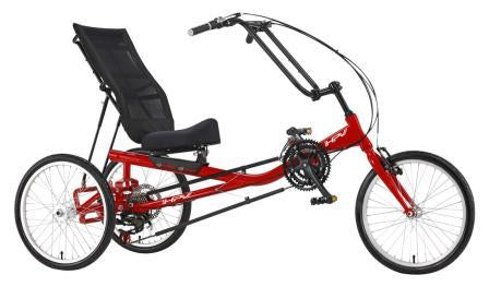 Rehatri recumbent foot tricycle