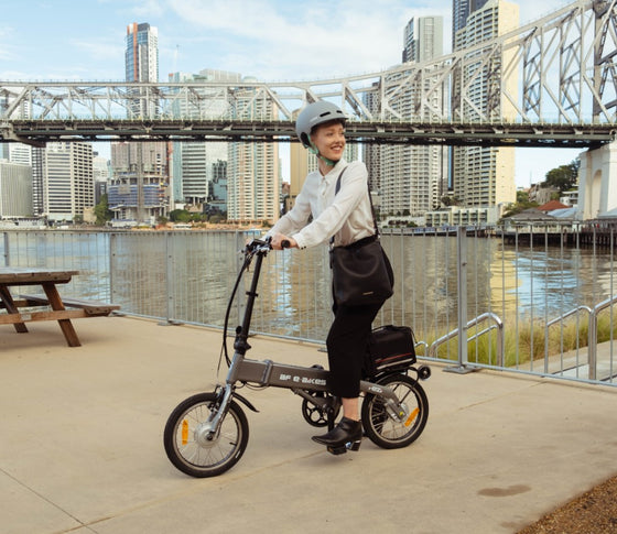BF i-Ezi Folding Electric Bike