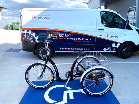 BF Popal 24 Electric Tricycle