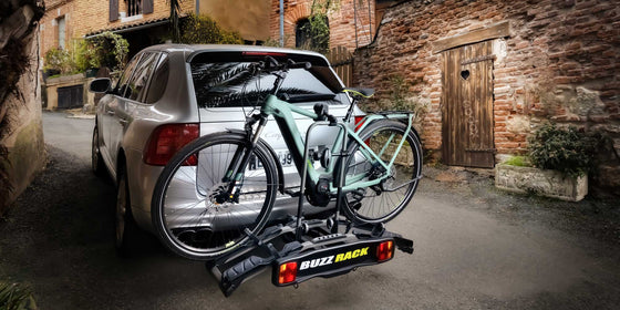 Bike Carrier - Buzzrack e-Hornet 2 (tow-ball)