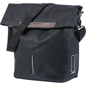 Basil City Single Pannier 16L - black