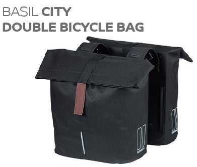 Basil - City Double Bicycle bag