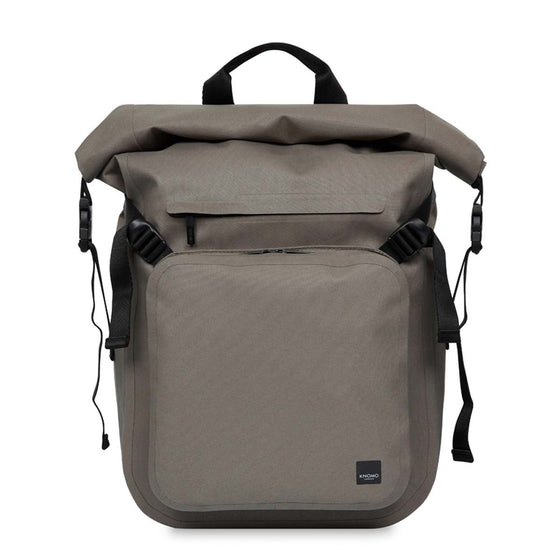 Knomo Hamilton Water Resistant Roll Top Laptop Backpack 14""