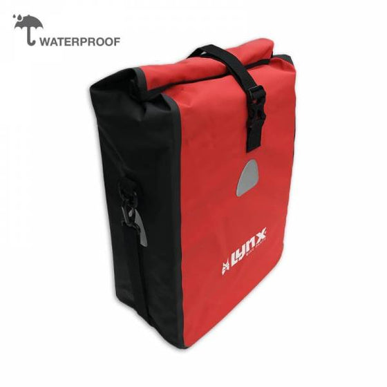 Lynx Waterproof Pannier tarpaulin 16L - red