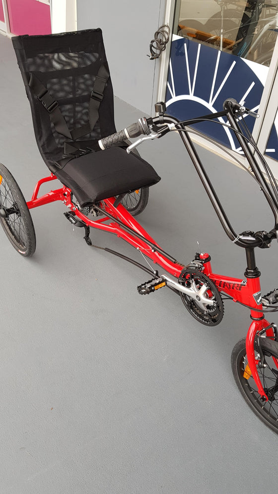BF Rehatri semi-recumbent electric foot tricycle